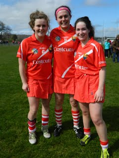 Killeagh girls on the Cork Panel: Leah, Hannah and Ellen